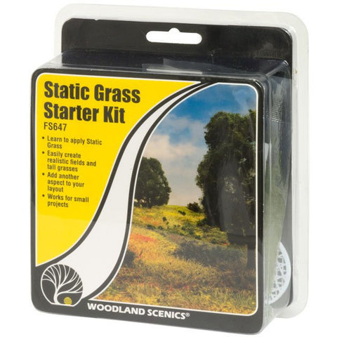 WOODLAND SCENICS Static Grass Starter Kit