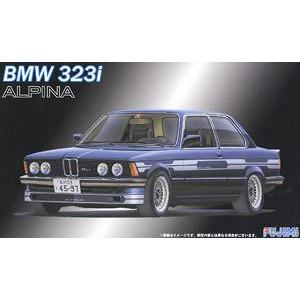 FUJIMI 1/24 No.9 BMW 323i Alpina C1-2.3 Plastic Model Kit