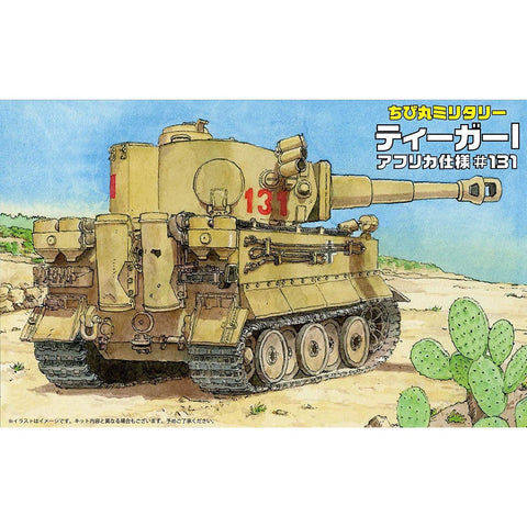 FUJIMI Chibi No.10 Tiger I with photoetch Plastic Model Kit