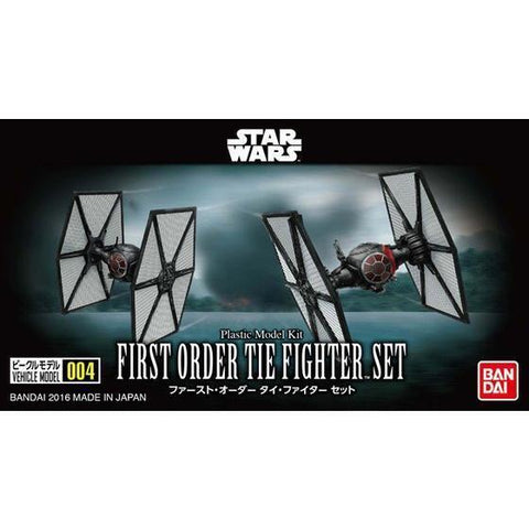 BANDAI VEHICLE MODEL 004 TIE FIGHTER SET