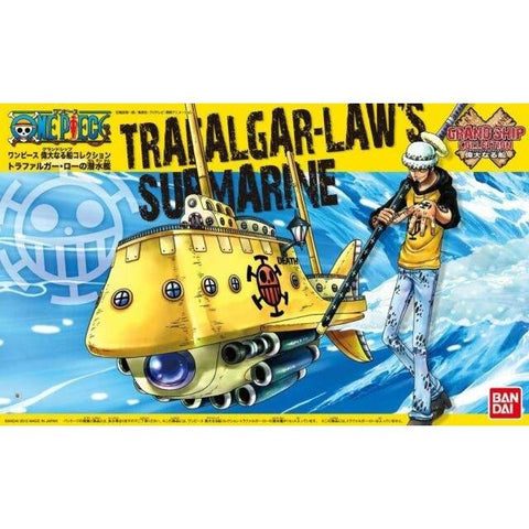 ONE PIECE GRAND SHIP COLLECTION TRAFALGAR LAW'S SUBMARINE