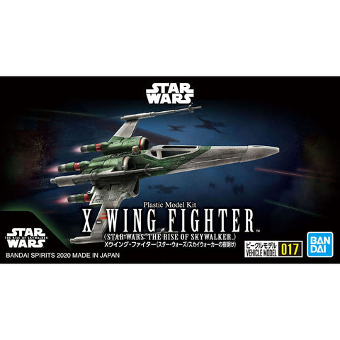 BANDAI STAR WARS X-WING FIGHTER PLASTIC MODEL