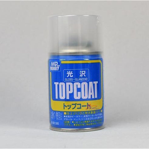 MR HOBBY Mr Topcoat - Gloss Clear Spray