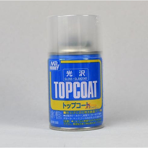 Image of MR HOBBY Mr Topcoat - Gloss Clear Spray