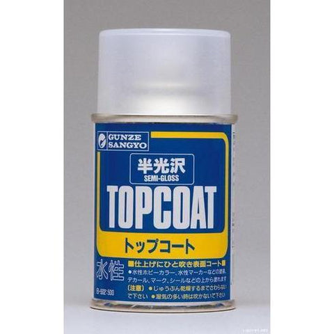 MR HOBBY Mr Topcoat - Gloss Semi Clear Spray