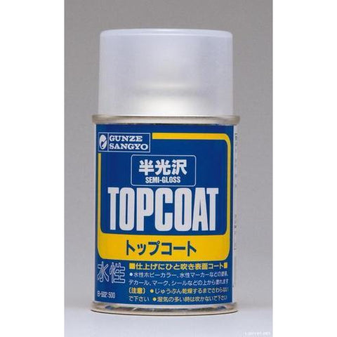 Image of MR HOBBY Mr Topcoat - Gloss Semi Clear Spray