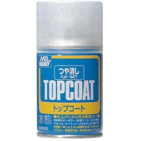 MR HOBBY Mr Topcoat - Flat Spray