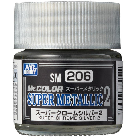 Super Metallic Chrome Silver