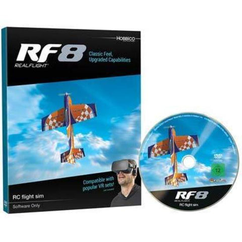 Great Planes Real Flight 8 Software only