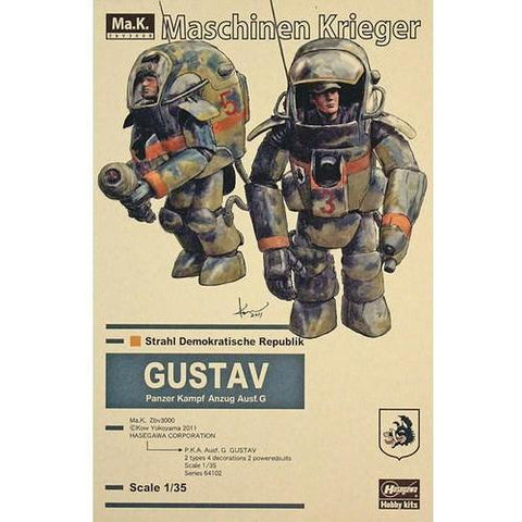 Hasegawa 1/35 P.K.A. Ausf. G GUSTAV (Two kits in the box) (