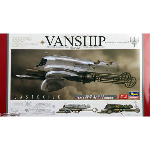 Hasegawa 1/72LASTEXILE -Fam, The Silver Wing- VANSHIP w/H