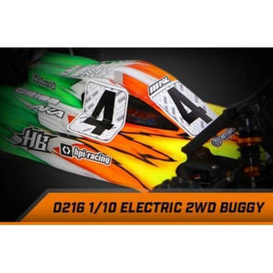 HB RACING D216 Buggy Body (Clear)