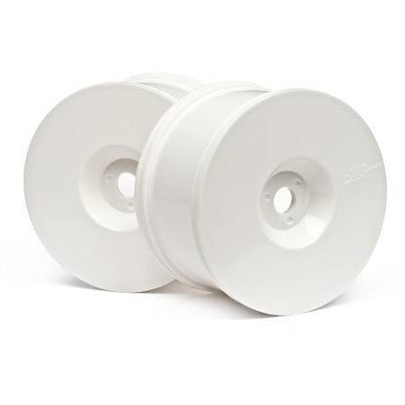 Image of HB RACING Truggy Dish Wheels (White/4Pcs)