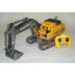 Image of HOBBY ENGINES EXCAVATOR WITH 2.4GHZ RADIO he0803