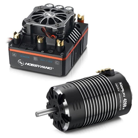 Xerun combo XR8 plus-4268SD 1900KV Black
