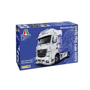ITALERI 1/24 Mrecedes Benz Actros MP4 Giga Space