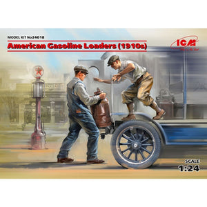 ICM 1:24 USA Gasoline Loaders (1910s) (2)