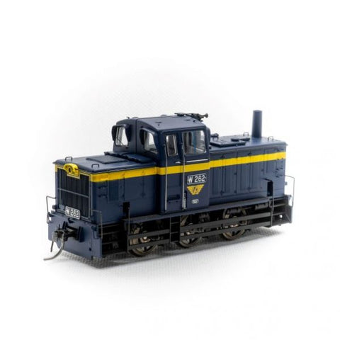 IDR HO W 262 Rebuilt Body VR Blue DCC Sound