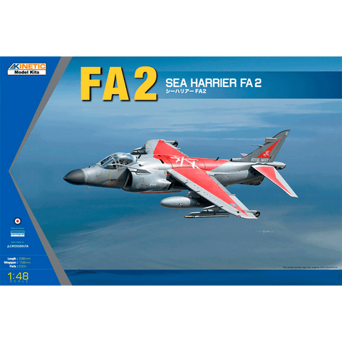 KINETIC 1/48 Sea Harrier FA2