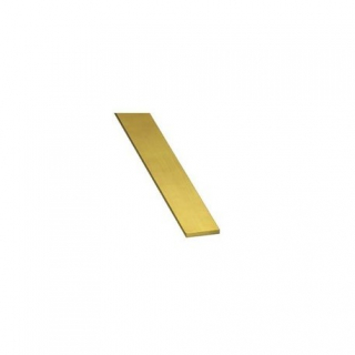 K&S ENGINEERING BRASS STRIP (300MM LENGTHS) 1MM THK X 18
