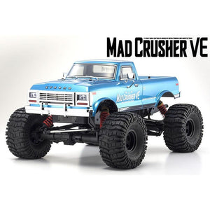 KYOSHO 1/8 EP 4WD MAD CRUSHER VE MONSTER TRUCK BRUSHLESS RT