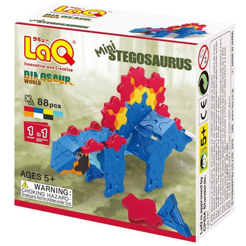 LaQ Dinosaur World MINI STEGOSAURUS (LAQDS0012)