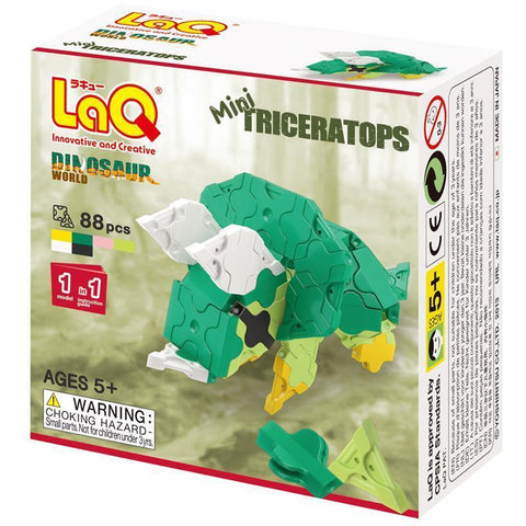 LaQ Dinosaur World MINI TRICERATOPS (LAQDS0014)