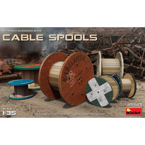 MINIART 1/35 Cable Spools