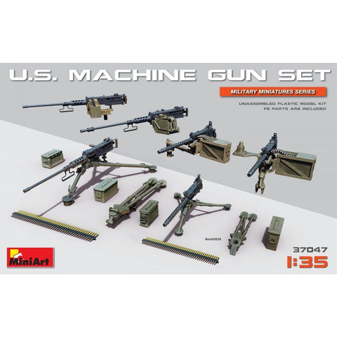 MINIART 1/35 U.S. Machine Gun Set