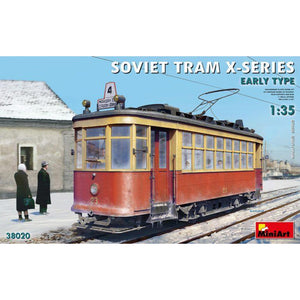 MINIART 1/35 Soviet Tram X-Series. Early Type