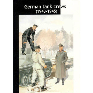 MASTER BOX 1/35 German TankcrewKit #2 1943-45