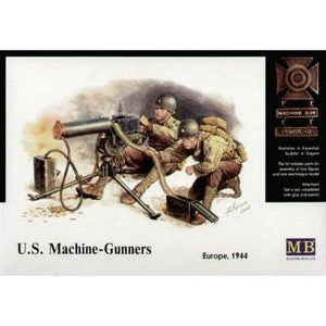 MASTER BOX 1/35 US Machine Gunners Europe 1944 (MB3519)