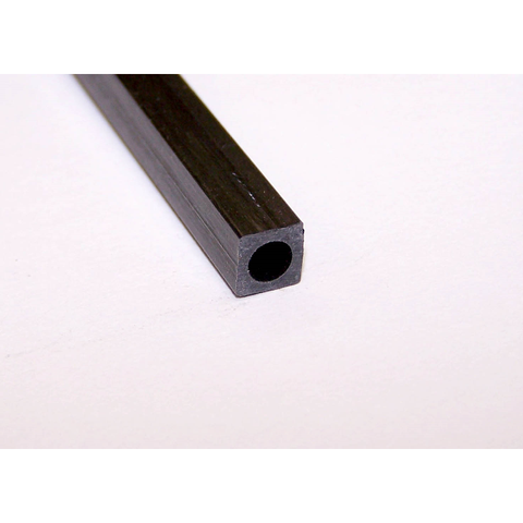 CARBON FIBRE SQUARE TUBE 4mm