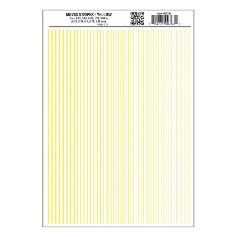 WOODLAND SCENICS Stripes Yellow