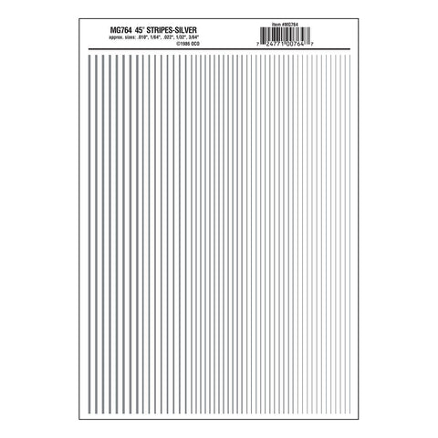 WOODLAND SCENICS Stripes Silver