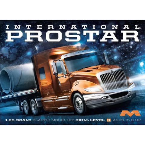 MOEBIUS 1/25 International ProStar Truck Plastic Kit