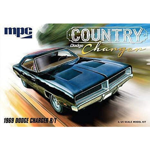 "MPC 1:25 1969 Dodge Country Charger"" R/T Super Stock Plasti"
