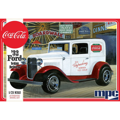 Image of MPC 1/25 1932 Ford Sedan Delivery (Coca Cola) Plastic Kit