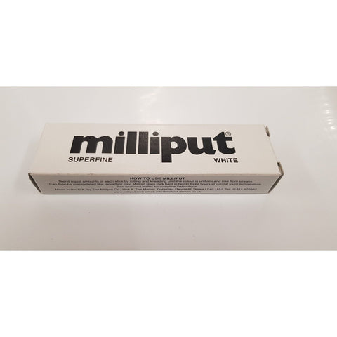 MILLIPUT Superfine White Epoxy Putty