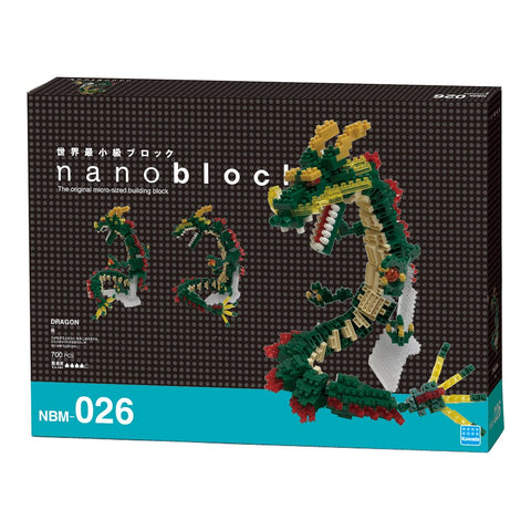 Image of NANOBLOCK Deluxe Edition Dragon