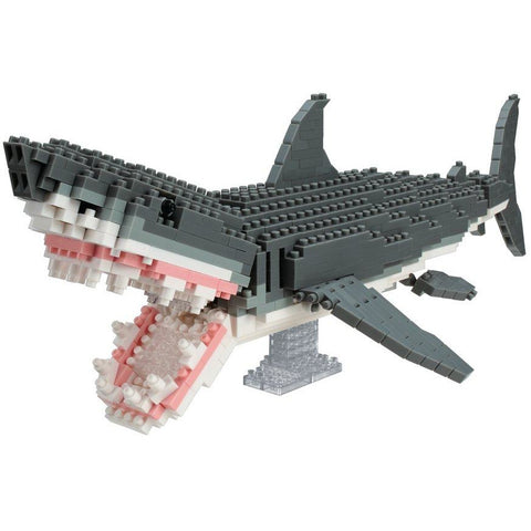 NANOBLOCK DX Great White Shark