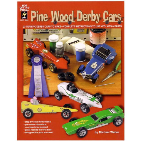 WOODLAND SCENICS Pinewood Derby Car Book