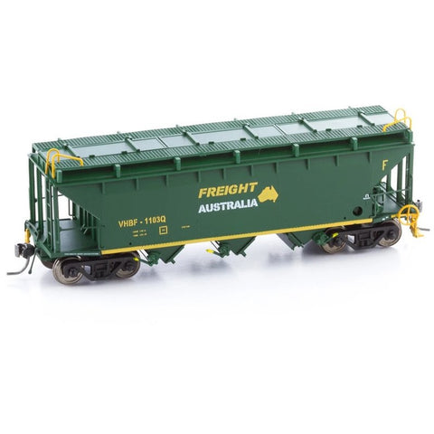 Image of POWERLINE HO - VHBF- Freight Australia Bogie Wheat Hopper 1