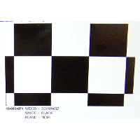 PROFILM 25mm WHITE-BLACK CHECKERS