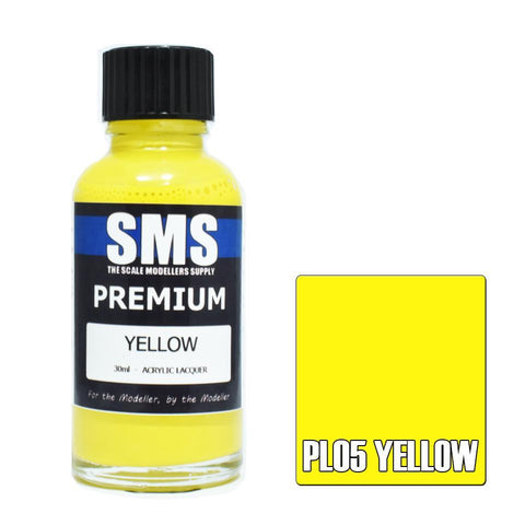 SMS Premium YELLOW 30ml (PL05)