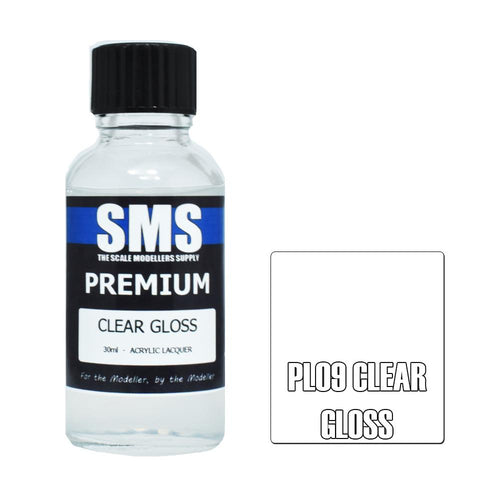 SMS Premium CLEAR GLOSS 30ml (PL09)