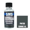 SMS Premium Metallic GUNMETAL 30ml