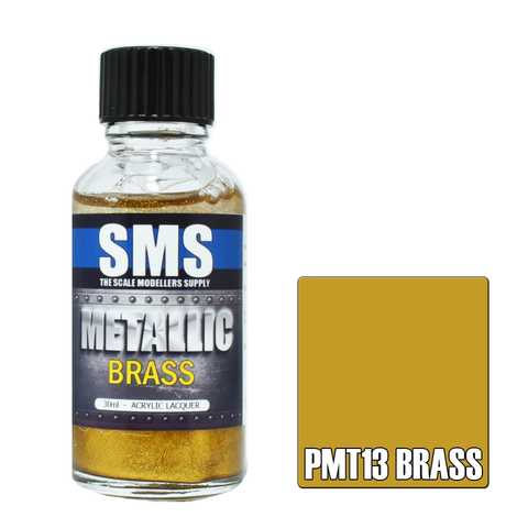 SMS Metallic BRASS 30ml (PMT13)