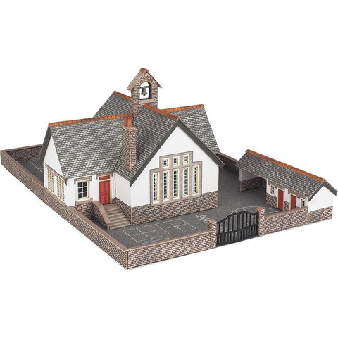 METCALFE Village School N Scale