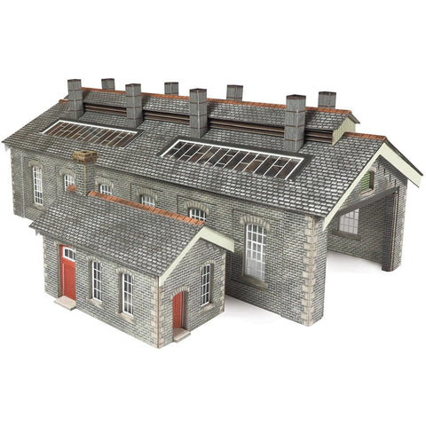 METCALFE S & C Goods DOUBLE TRACK ENGINESHED N SCALE